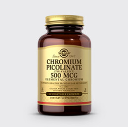 Chromax Solgar Chromiumpicolinate500Mcg Uai Nutrition21